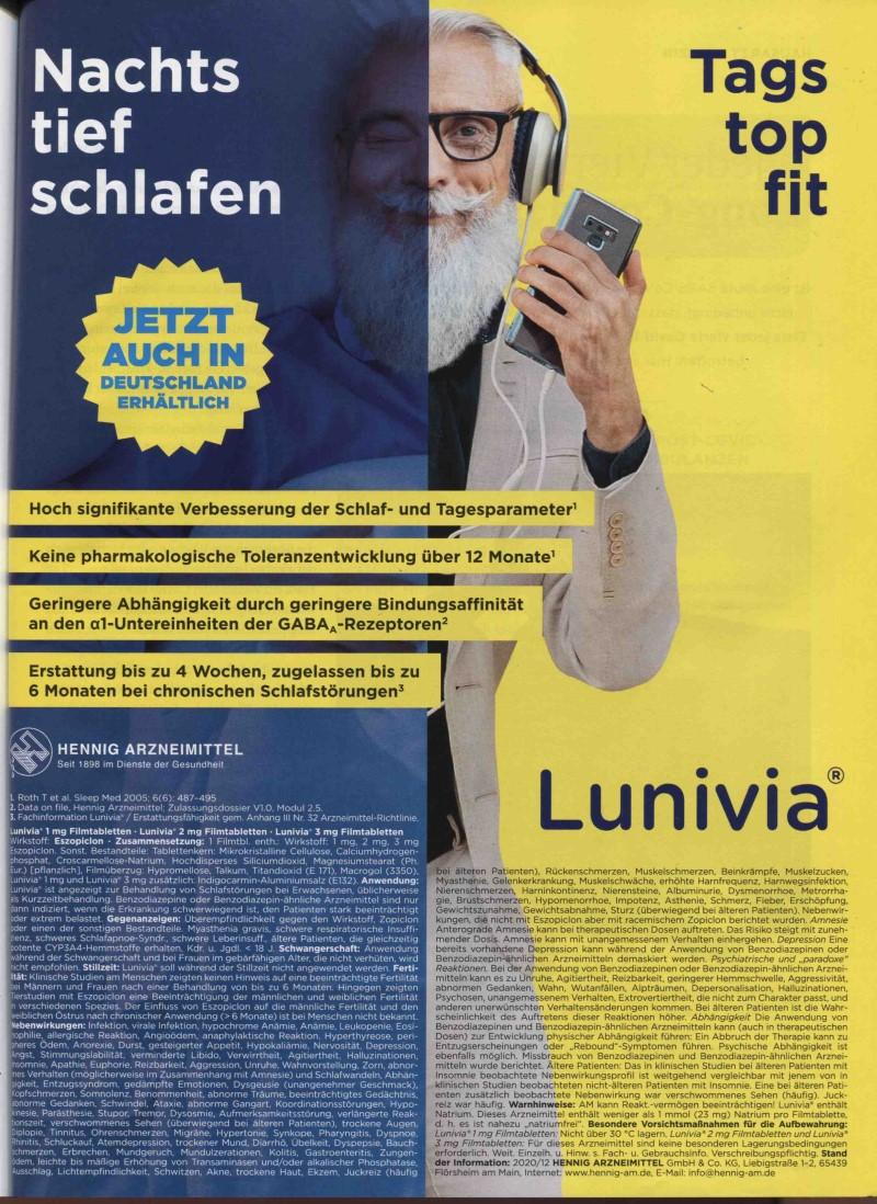 Rx-Motiv April 21: Hennig Arzneimittel für Lunivia