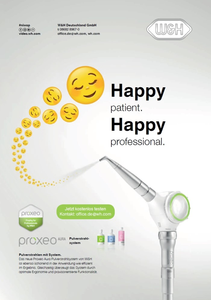 Dental-Motiv August 2019: W&H für Proxeo Aura