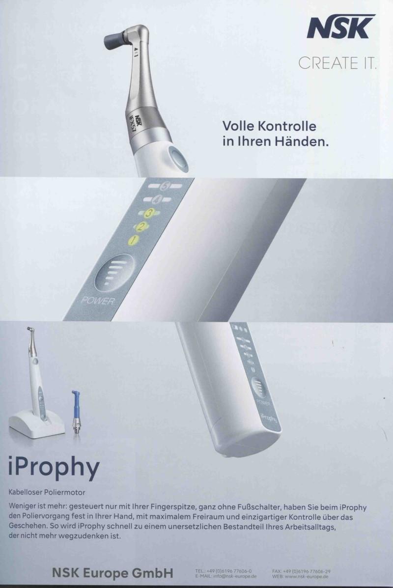 Dental-Motiv August 2020: NSK für iProphy
