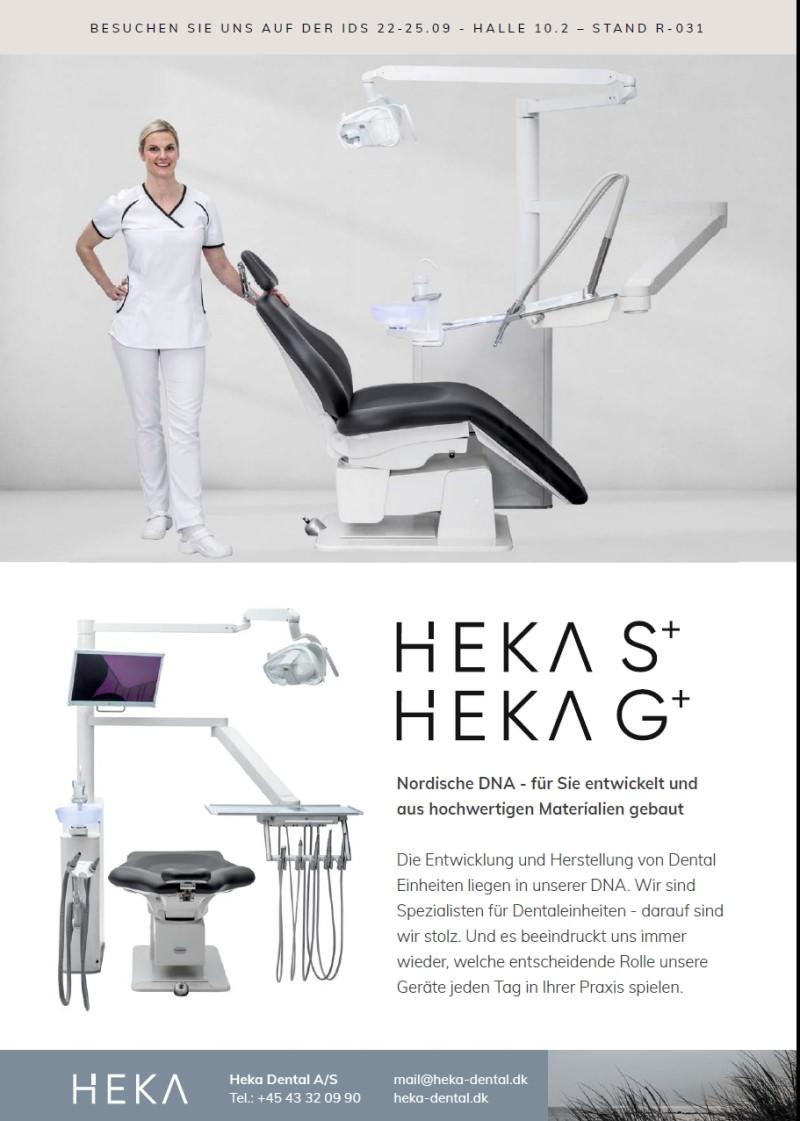 Dental-Motiv August 21: Heka Dental für Heka S+ und Heka G+