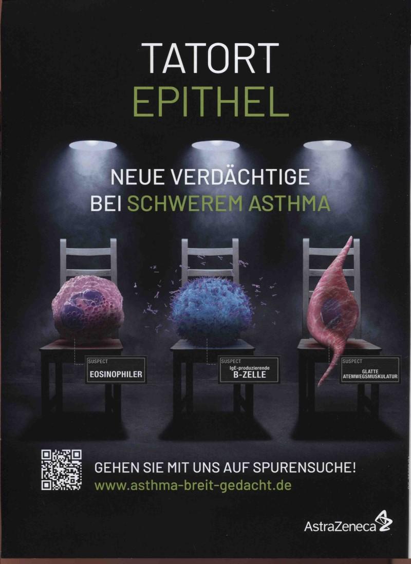 Rx-Motiv August 21: AstraZeneca zum Thema Schweres Asthma