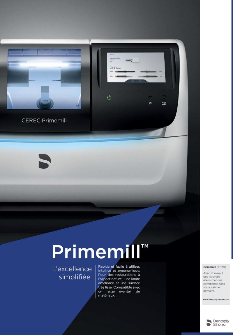 Dental-Motiv Februar 2020: Dentsply Sirona für CEREC Primemill