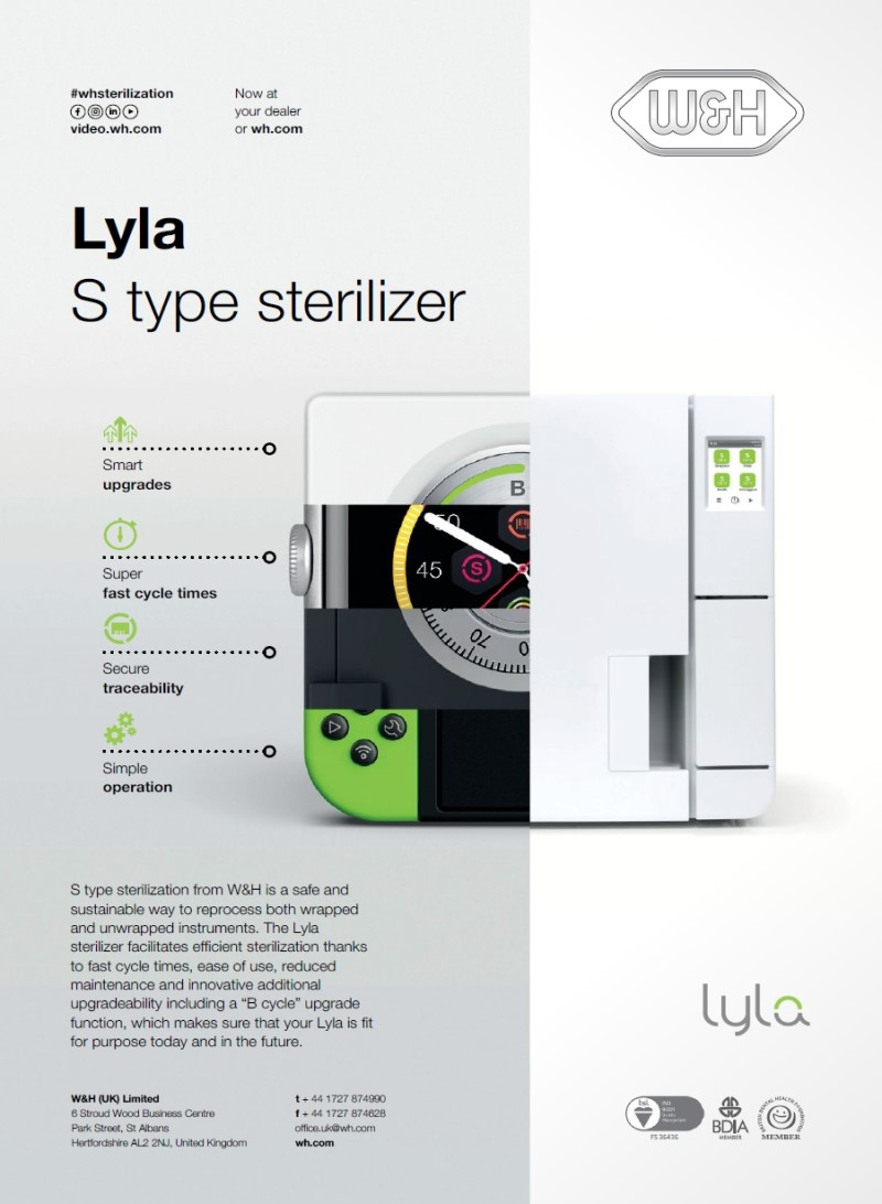 Dental-Motiv Juli 2021: W&H Dental für Lyla