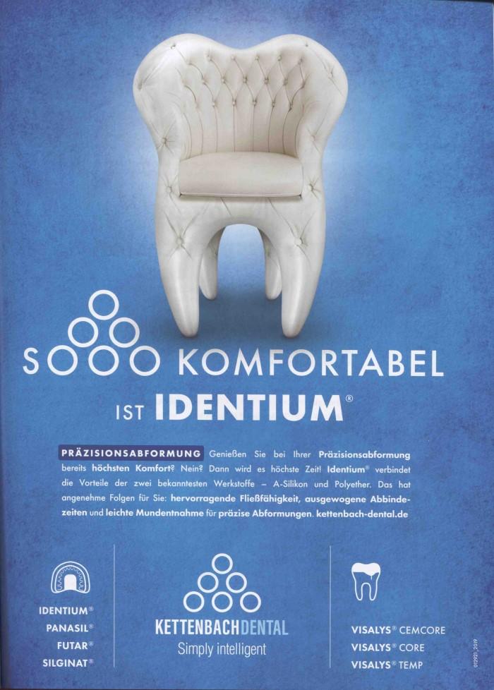 Dental-Motiv Juni 2019: Kettenbach Dental für Identium