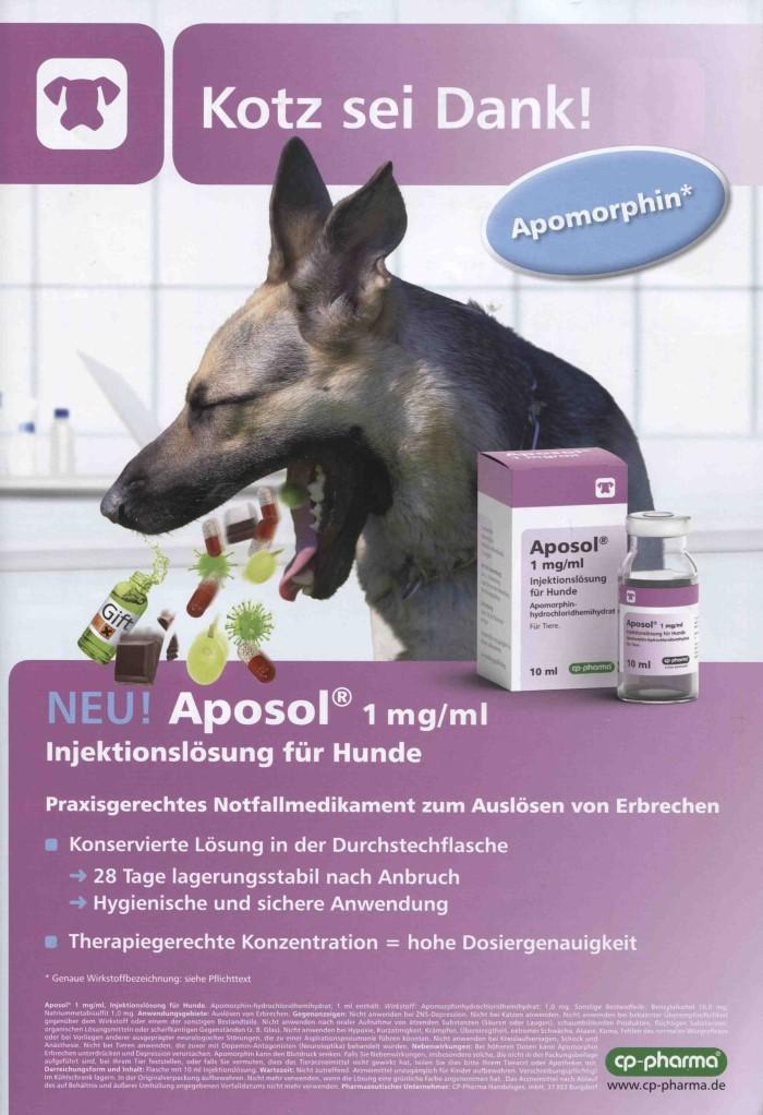 Vet-Motiv Juni 2019: CP-Pharma für Aposol