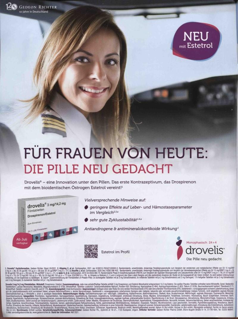 Rx-Motiv Juni 21: Gedeon Richter Pharma für Drovelis