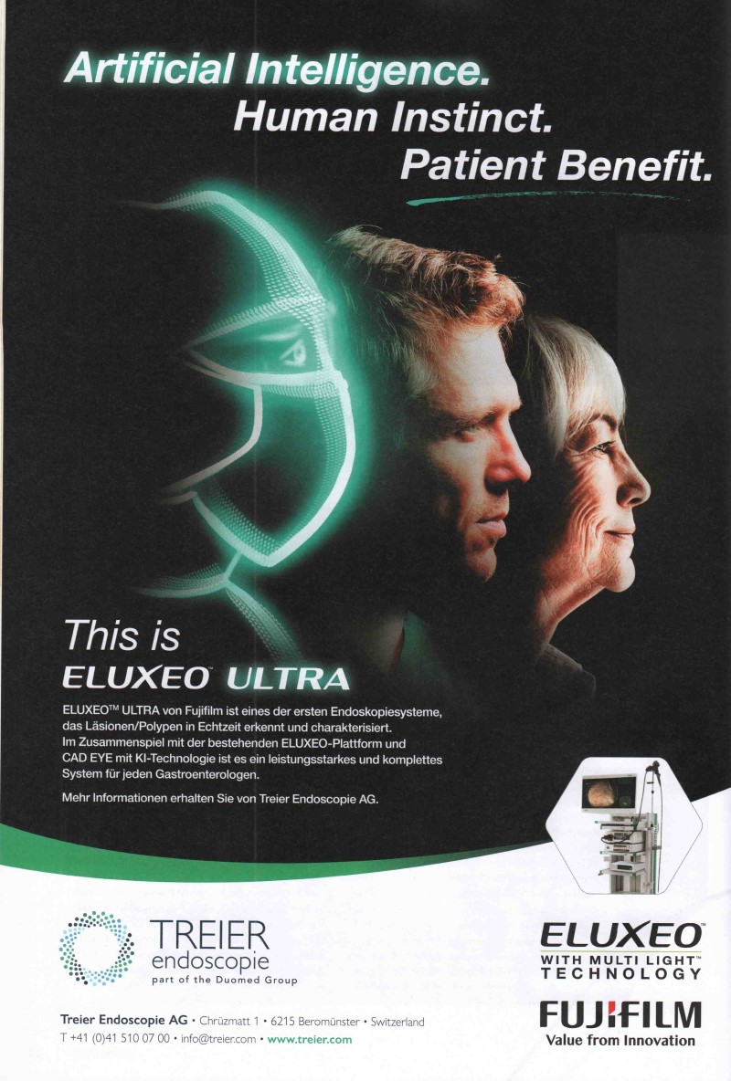 MedTec-Motiv Mai 21: Treier Endoscopie für ELUXEO ULTRA