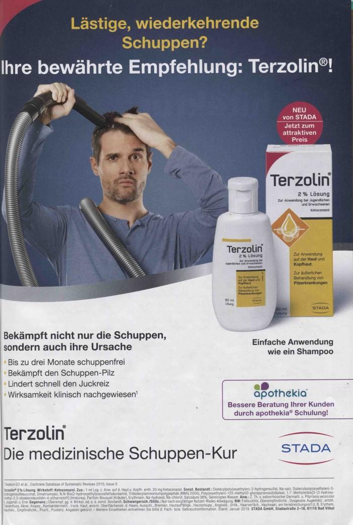 Rx-Motiv März 2019: Werbeanzeige STADA für Terzolin