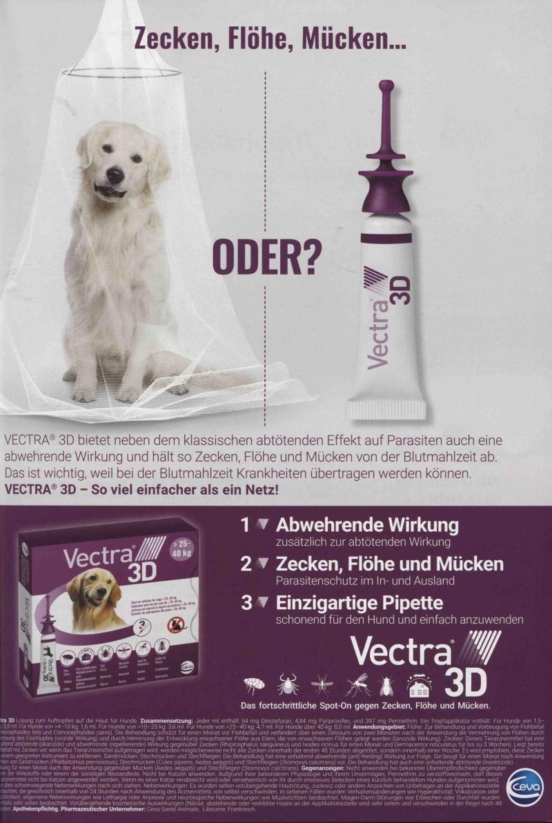 Veterinär-Motiv März 2020: Ceva für Vectra 3D
