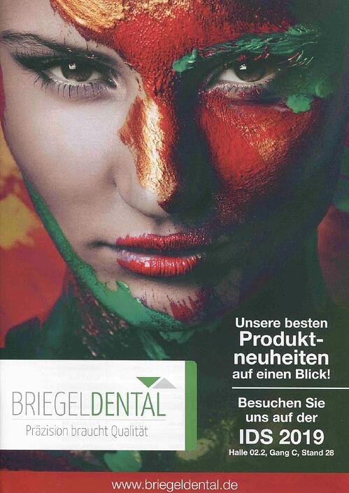 Dental-Motiv November 2018: Printanzeige BRIEGELDENTAL