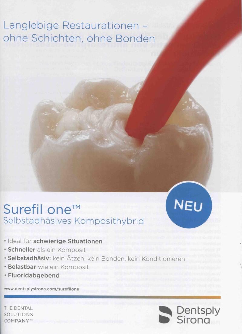 Dental-Motiv Oktober 2020: Dentsply Sirona für Surefil one