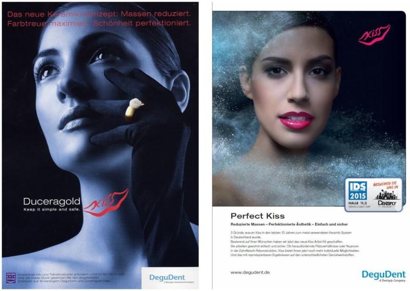 Werbeanzeige von DeguDent für KiSS