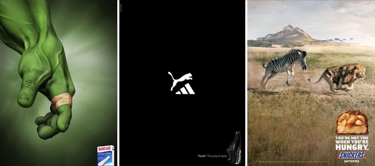 Beispiele Werbeanzeigen B2C