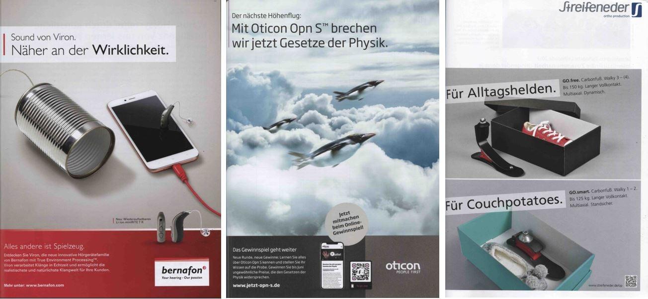 MedTec-Branche: Beispiele für humorvolle Werbeanzeigen