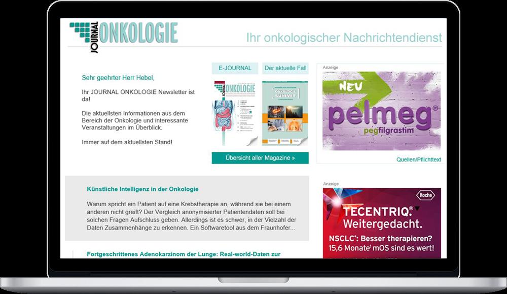 Im Pharma Marketing nutzen viele Hersteller verstärkt Newsletter für Werbeanzeigen.